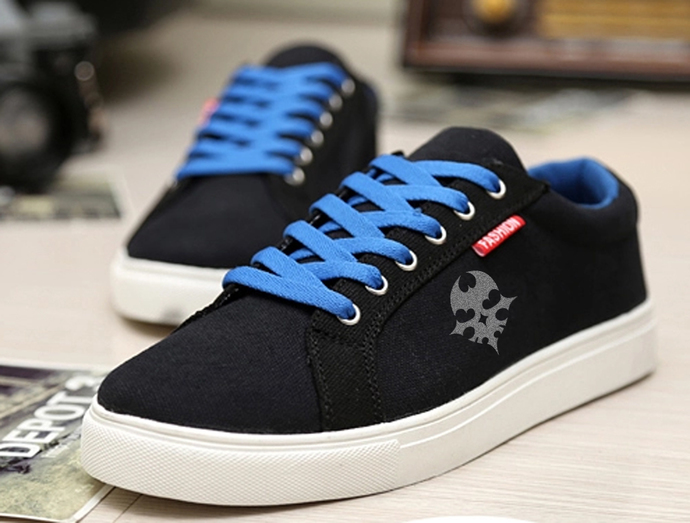 The World End WIth You TWEWY Skull symbol Sneakers Sport Casual Shoes