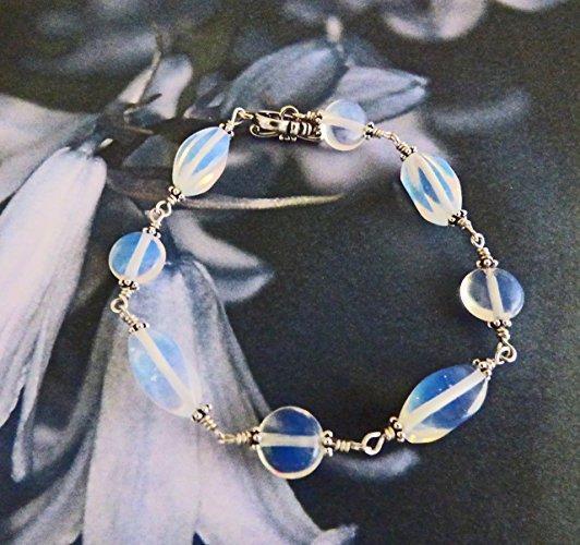 Opalite Dreams Sterling Silver Bracelet