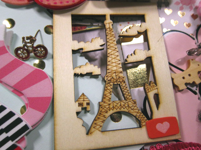 Whimsical Paris Inspirational Kit stl