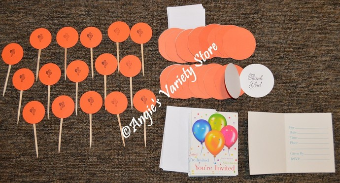 Orange You're Invited Birthday Party Package