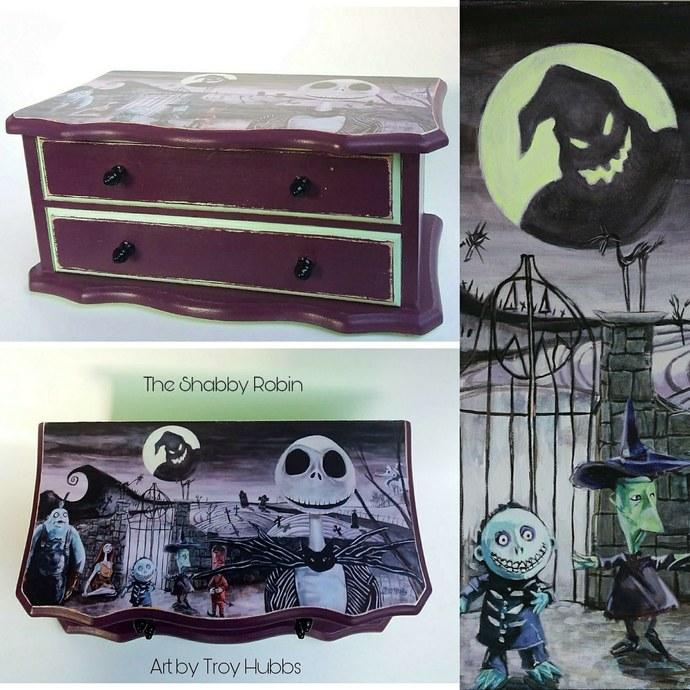 musical nightmare before christmas jewelry box - Nightmare Before Christmas Furniture