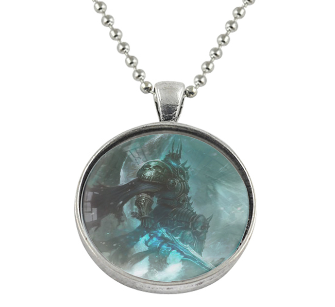 World of Warcraft WoW Wrath of the Lich King Pendant Necklace