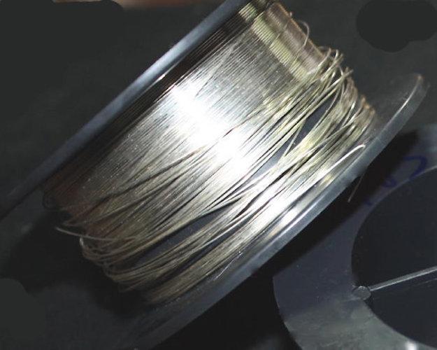 22 Gauge Sterling Silver Argentium Wire HH Round 5 ft.