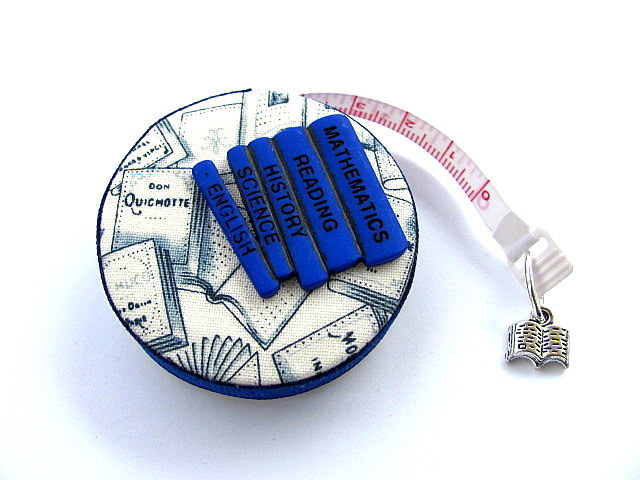 Measuring Tape for Book Lovers Fabric Retractable Tape Measure