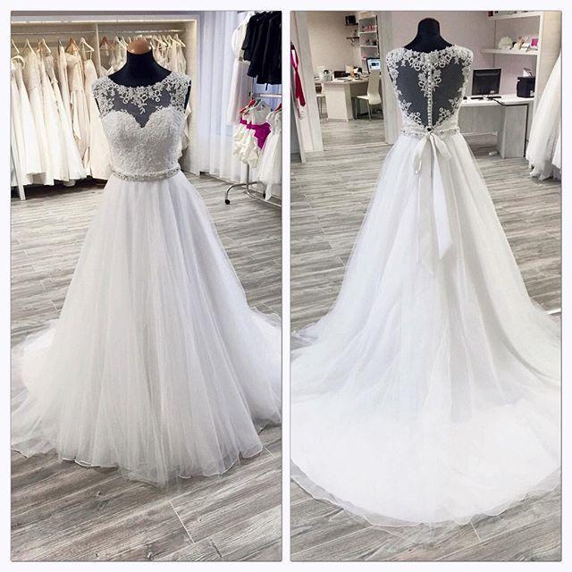 Wedding Dress A-line Wedding Dress white Wedding Dress,Luxury Wedding