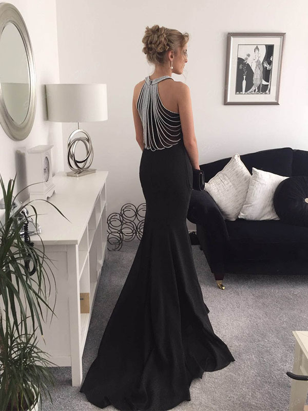 Charming Prom Dresses,Black Mermaid Prom by prom dresses on Zibbet