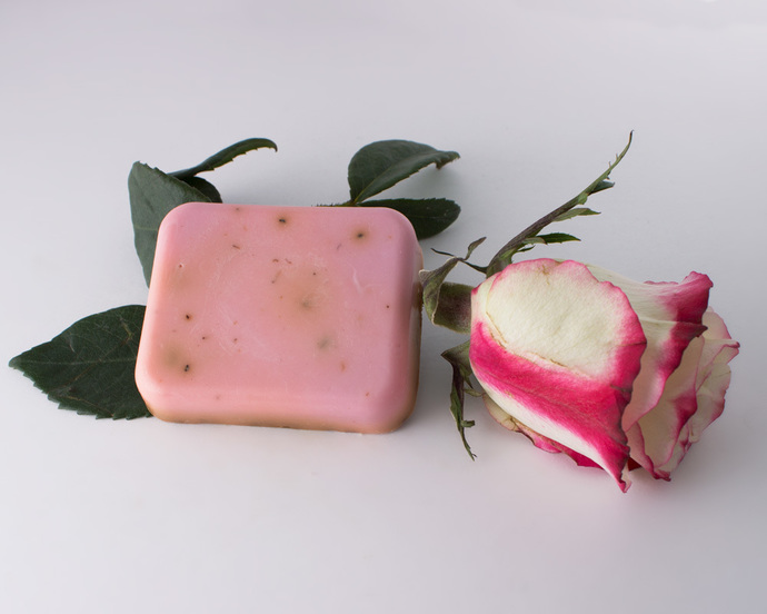Rose Milk Goat's Milk Soap Bar