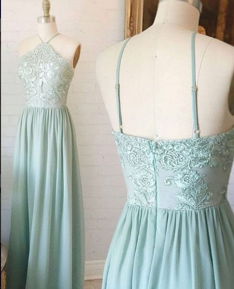 Vintage Green Wedding Dress