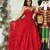 Princess Sweetheart Red Prom Dresses Full Lace Long Prom Dress,Princess
