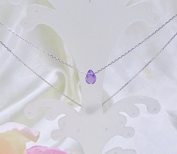 Fine Amethyst Sterling Silver Necklace