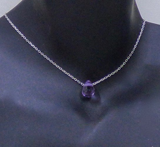 Fine Amethyst Sterling Silver Necklace