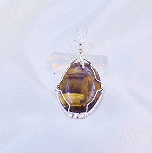 Tigers Eye Sterling Silver Pendant