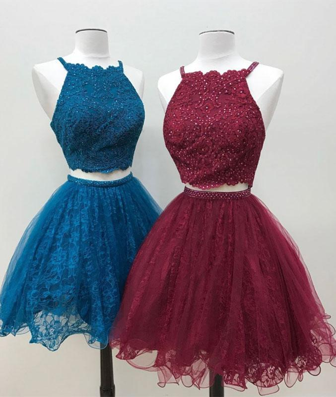Cute Spaghetti Straps A-Line Homecoming Dresses,Short Prom Dresses,Cheap