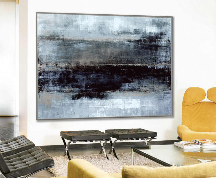 Original Art, Abstact Painting, Acrylic Painting, Abstract Canvas Art, Large