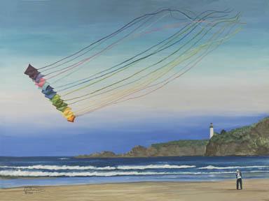 """Rainbows"" Giclee Paper Print by Carol Thompson"