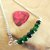 Green Agate Gemstone Bar Necklace, Layering Jewelry, Handcrafted Jewelry