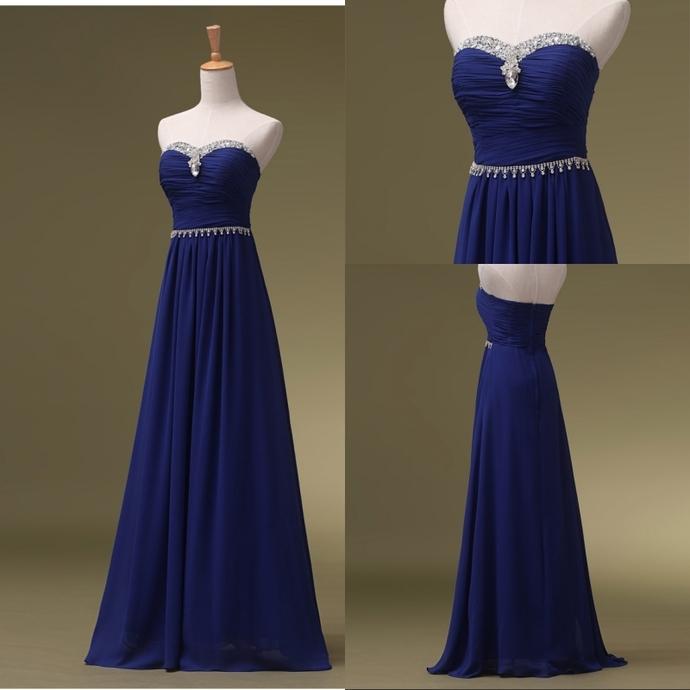 Bridesmaid Dresses Long Royal Blue Bridesmaid Dresses