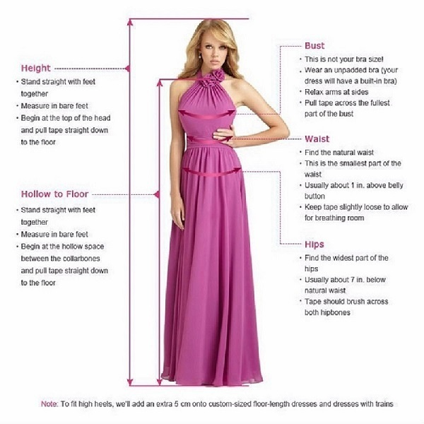 Ruched Crystal Beaded A-line Long Prom Dress, Evening Dress with Keyhole Back