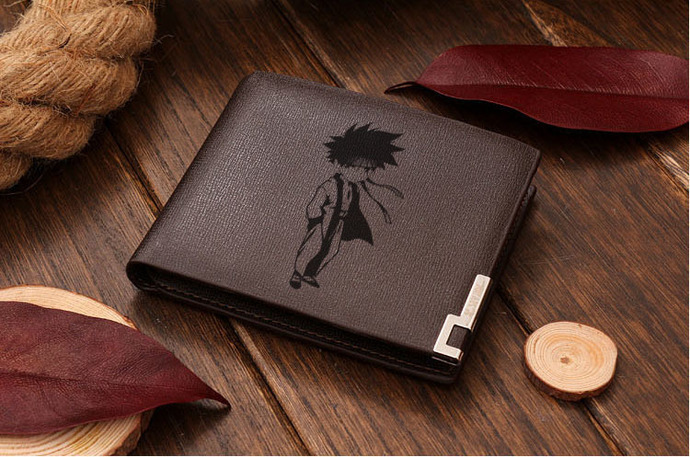 Sagara Sanosuke Rurouni Kenshin  Leather Wallet