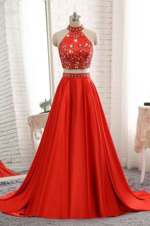 A Satin cloth Long Prom Dress,Black Long Prom Dress,Red Prom Dress