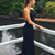 prom dress, black lace mermaid long prom dress, sexy backless long prom dress,