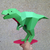 DIY Papercraft Tyrannosaurus Sculpture,T-rex,Dinosaur,Papercraft