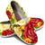 Custom Made Shoes, Floral Themed Shoes, Made to Order, Slip On Shoes, Womens