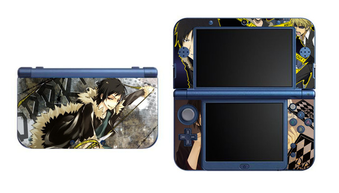 Durarara!! Izaya NEW Nintendo 3DS XL LL, 3DS, 3DS XL Vinyl Sticker / Skin Decal