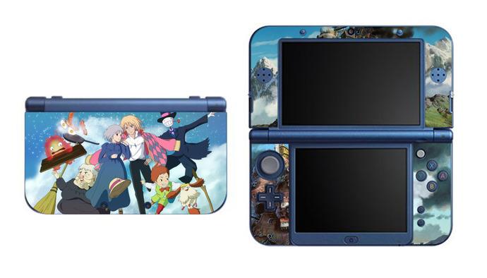 Howl's Moving Castle NEW Nintendo 3DS XL LL, 3DS, 3DS XL Vinyl Sticker / Skin