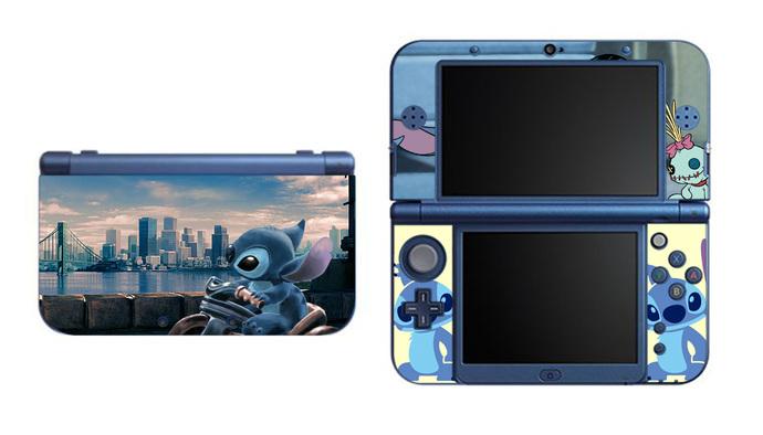 Lilo and Stitch NEW Nintendo 3DS XL LL, 3DS, 3DS XL Vinyl Sticker / Skin Decal