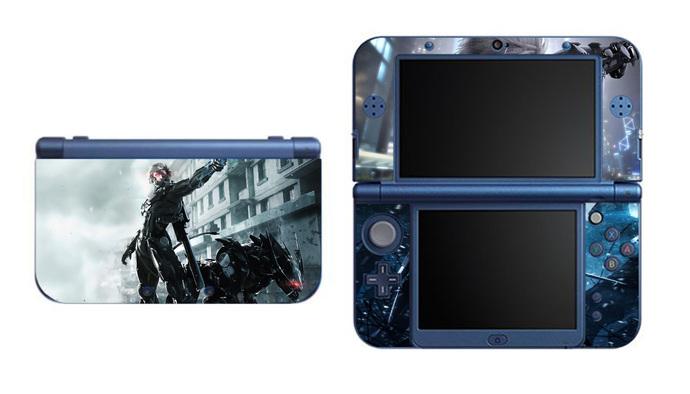 Metal Gear Rising Raiden NEW Nintendo 3DS XL LL, 3DS, 3DS XL Vinyl Sticker /