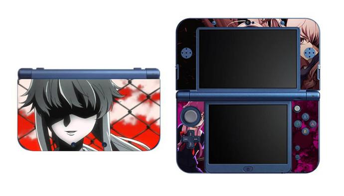 Mirai Nikki Yuno NEW Nintendo 3DS XL LL, 3DS, 3DS XL Vinyl Sticker / Skin Decal