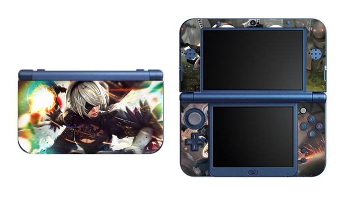 Nier Automata NEW Nintendo 3DS XL LL, 3DS, 3DS XL Vinyl Sticker / Skin Decal