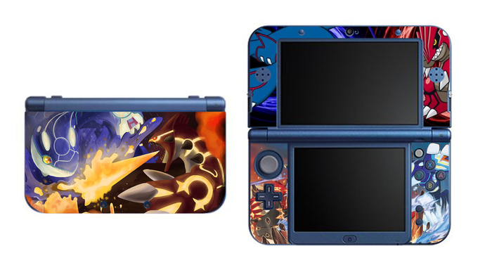 Pokemon Omega Ruby Alpha Sapphire NEW Nintendo 3DS XL LL, 3DS, 3DS XL Vinyl