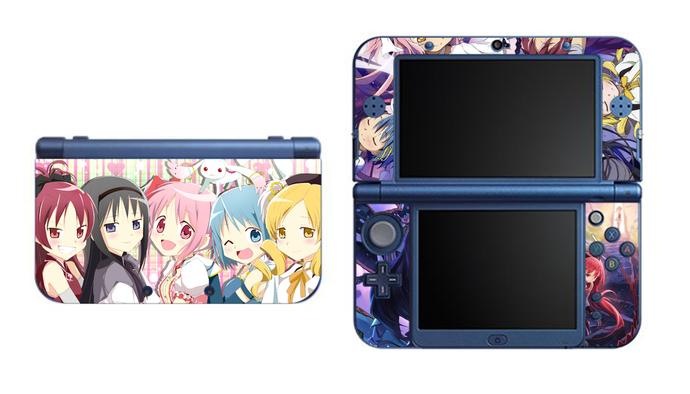 Puella Magi Madoka Magica NEW Nintendo 3DS XL LL, 3DS, 3DS XL Vinyl Sticker /