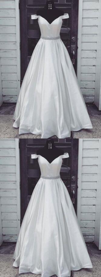 Off-the-shoulder Cheap Prom Dress,Stain Prom by prom dresses on Zibbet