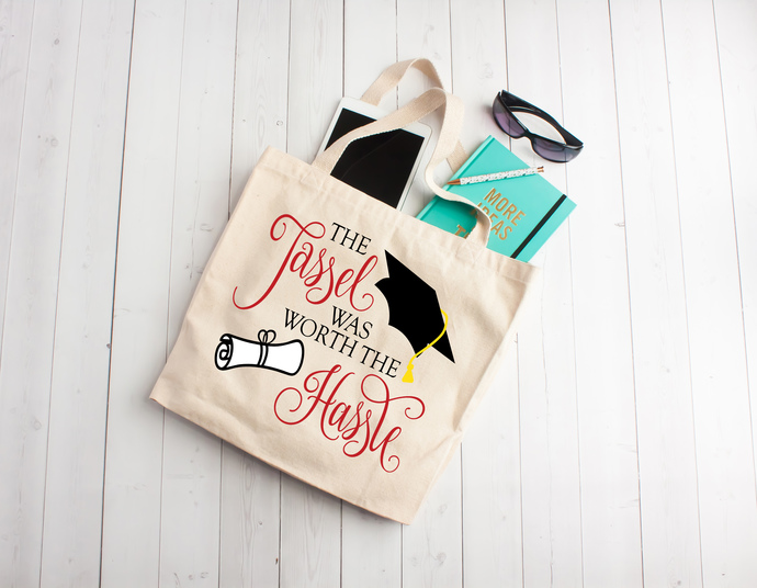 Graduation gift, class of 2018, tote bag, one of a kind gift ideas, gradutation