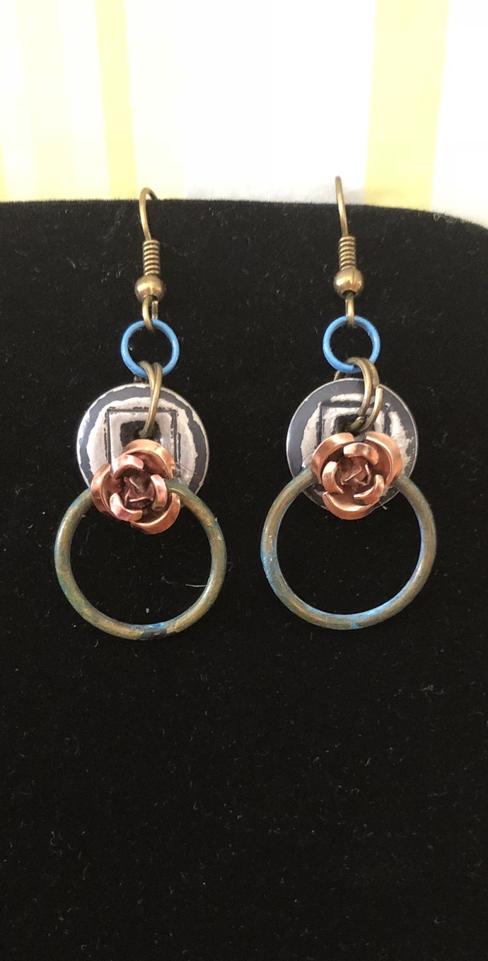 Ring Around The Rosie Earrings