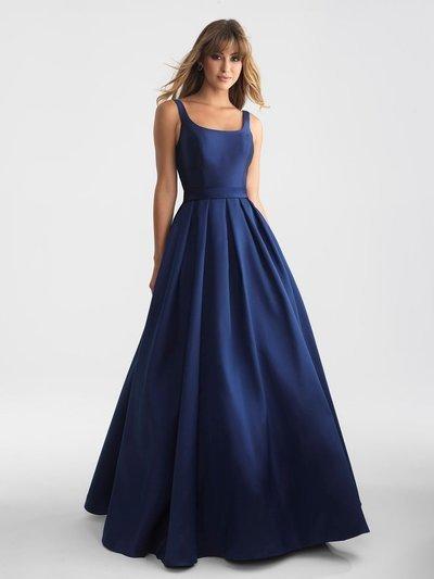 4b2687b028 Elegant Navy Blue Long Prom Dress Evening by prom dresses on Zibbet