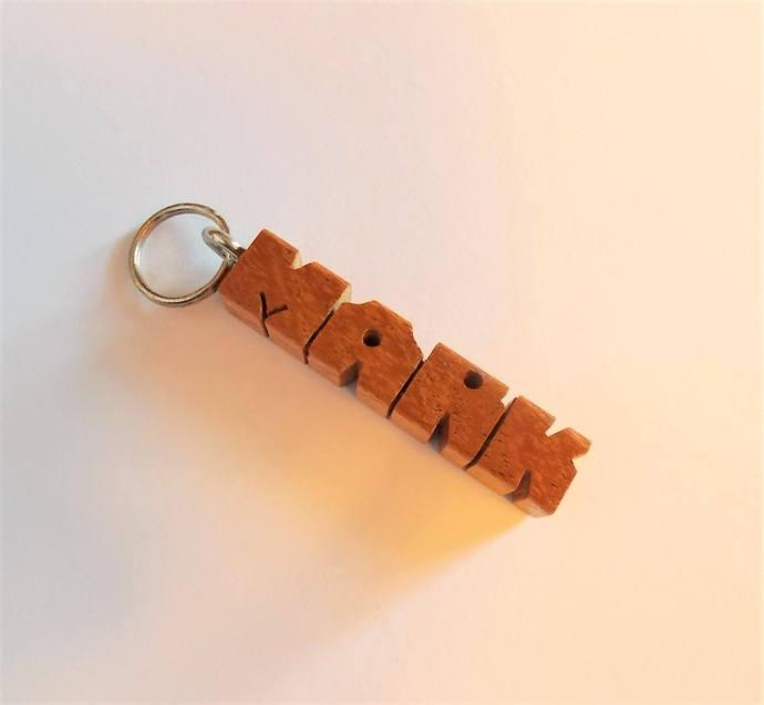 "MARK - Sample Name ""MiniTag"" in Mesquite Wood"