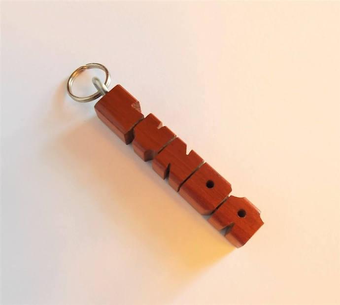 "LYNDA - Sample Name ""MiniTag"" in Canarywood"