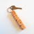 SANDY - Sample Name Keychain in Cherry Wood