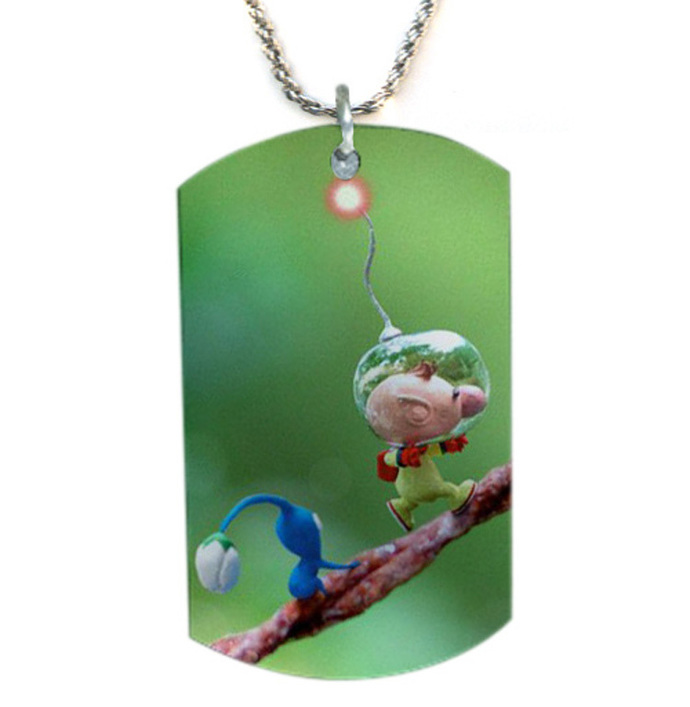 Pikmin Dog Tag Necklace