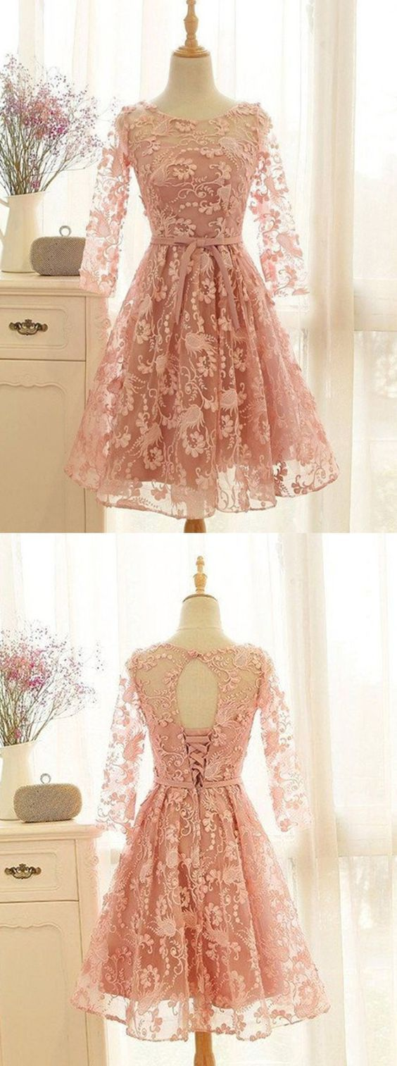 Unique Homecoming Dresses,lace homecoming dresses,short homecoming dresse