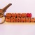 Koa Wood 2-Liner Love Keychain, Names Custom Carved to Order