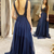 Ball Gowns Luxurious Beads Bodice Chiffon Long Prom Dress