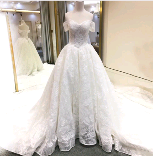 Sexy Off The Shoulder  Wedding Dresses,Long Wedding Dresses,Cheap Wedding