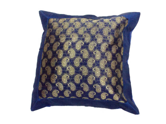 Indian Silk Cushion Cover Home By Valintino Textile On Zibbet Magnificent Indian Silk Decorative Pillows