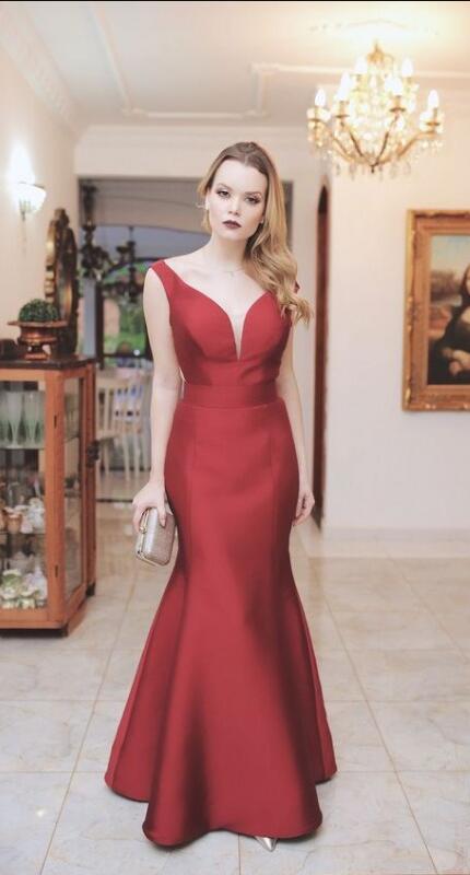 17ca3a814c Off Shoulder Burgundy Prom Dress