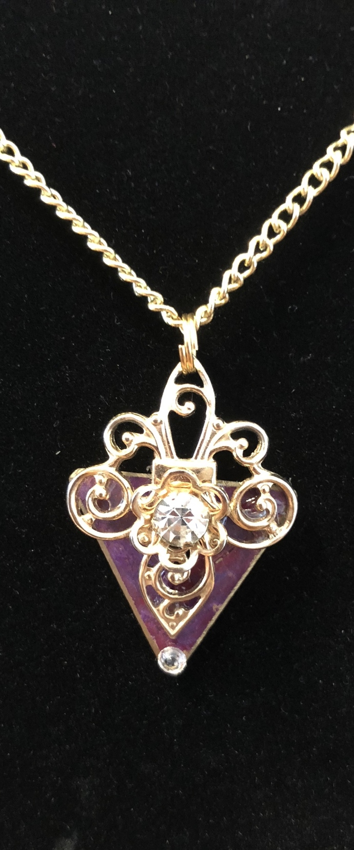 Gilded Lily Necklace